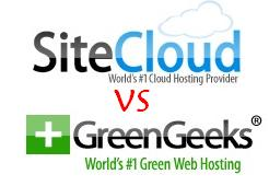 greengeeks vs sitelcoud
