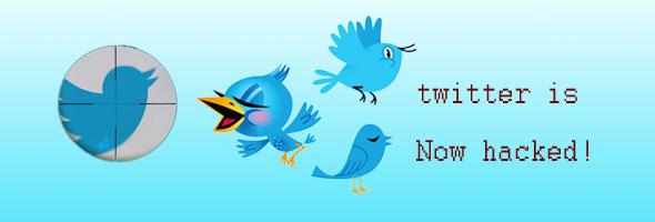 twitter is hacked