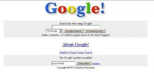 early time's google