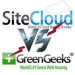 Greengeeks vs Sitecloud