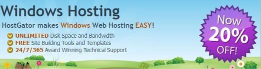 hostgator windows hosting