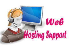 web hosting support & software