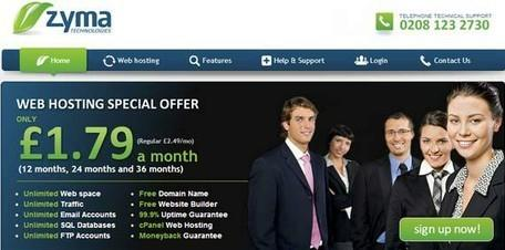 zyma web hosting