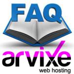 Arvixe Web Hosting FAQ