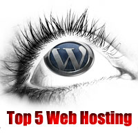 top 5 wordpress web hosting