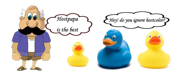 Hostpapa vs hostcolor