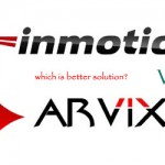 Inmotion hosting vs Arvixe