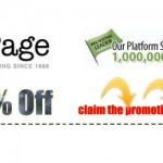 iPage 80% OFF Promotion, $1.00/month!
