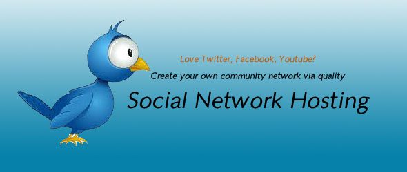 Social network hosting