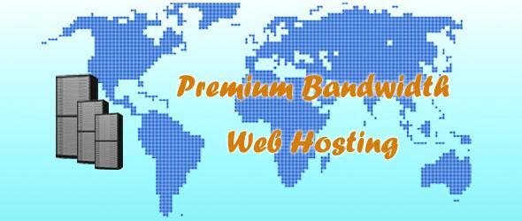 premium bandwidth hosting