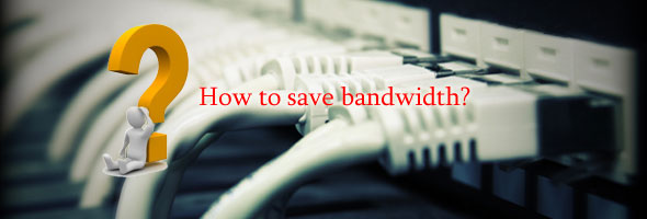 How to save website bandwidth
