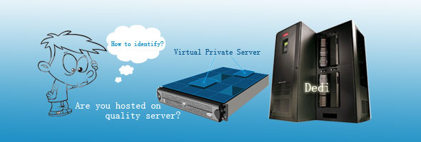 How to detect a virtual or physical hosting server