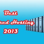 Best Shared Hosting 2013