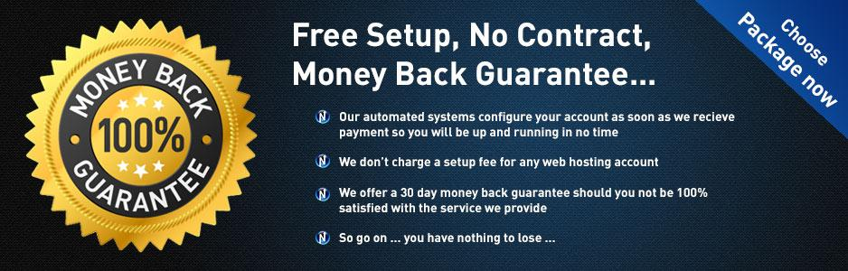 Hosting money back guarantee