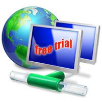 free trial hosting