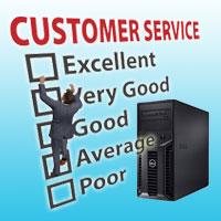 better server or customer support?