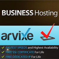 why arvixe business class hosting?