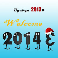 bye bye 2013 and hello 2014