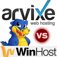 Arvixe vs Hostgator vs Winhost