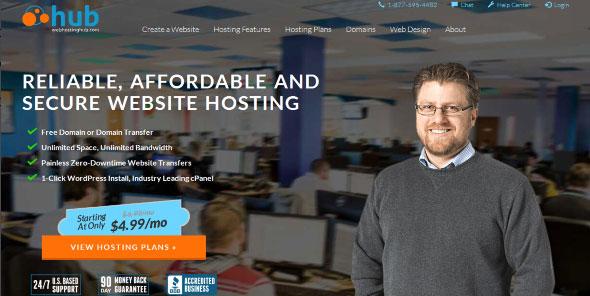 Webhostinghub New design