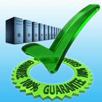 100% uptime guarantee hosting