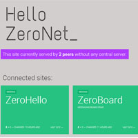 ZeroNet - No Take Down Website Creation