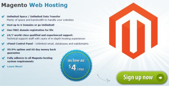 arvixe magento hosting features