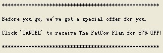 fatcow 57% off coupon