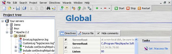 ApacheConf screenshot