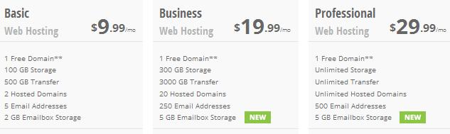 aplus hosting price