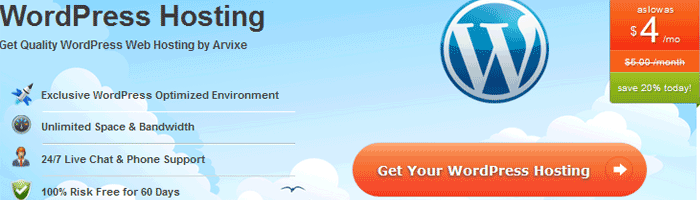 arvixe mobile web hosting