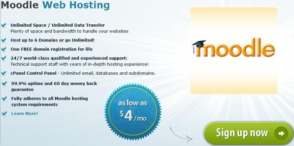 Arvixe moodle hosting