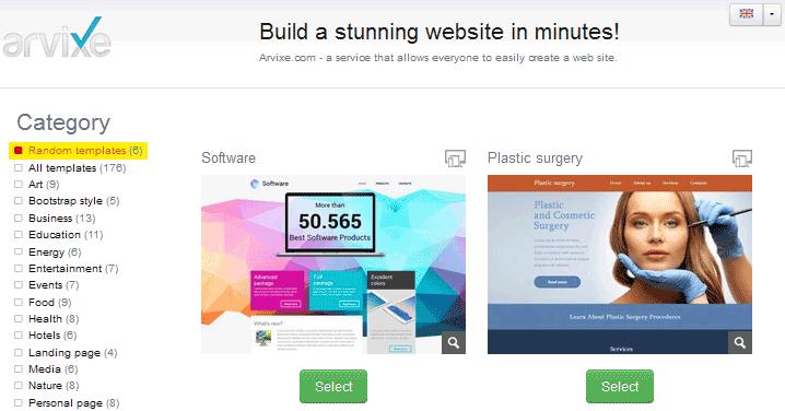 arvixe sitepro hosting