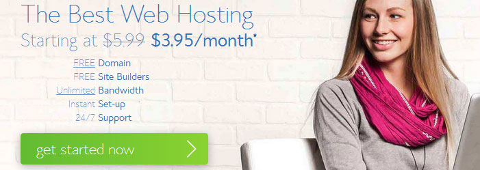bluehost shared hosting promo