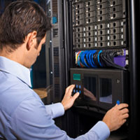 Colocation hosting service