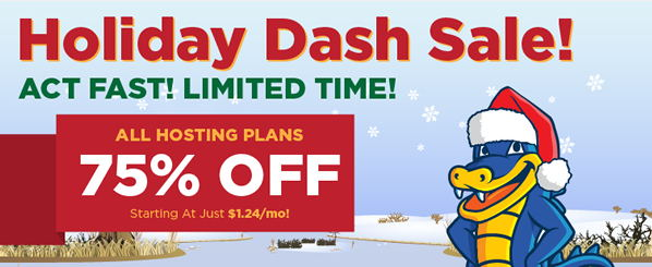 hostgator holiday promo