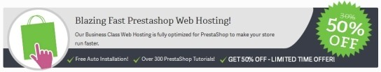 inmotion hosting prestashop promo
