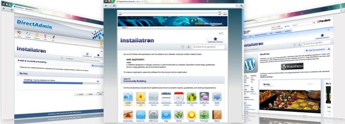 Installatron installer features