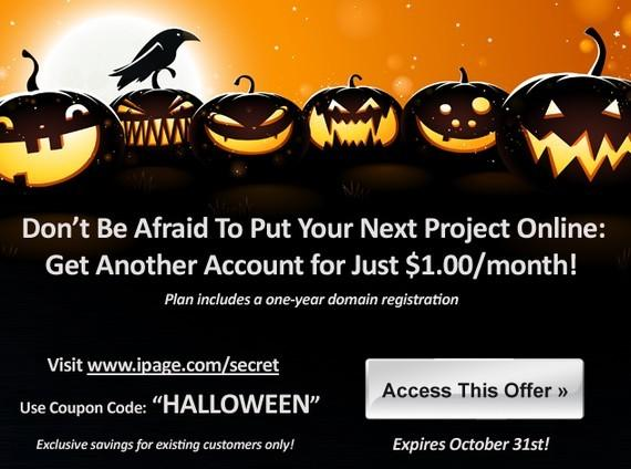 ipage halloween promo