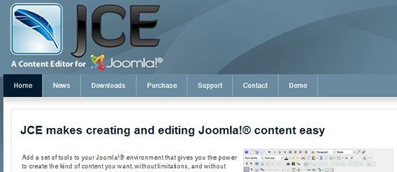joomla jce editor
