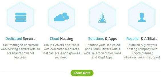 top 10 dedicated server hosting - krypt