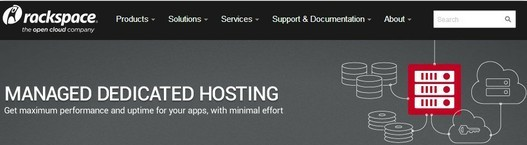 top 10 dedicated server hosting - rackspace
