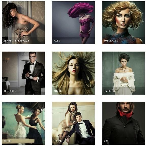 Stock photo gallery