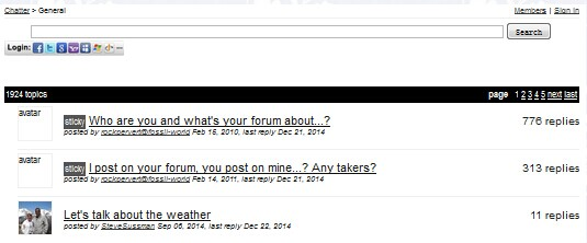 Talki forums