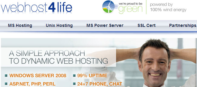 webhost4life review