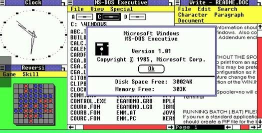 windows dos