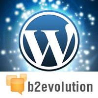 wordpress vs b2evolution