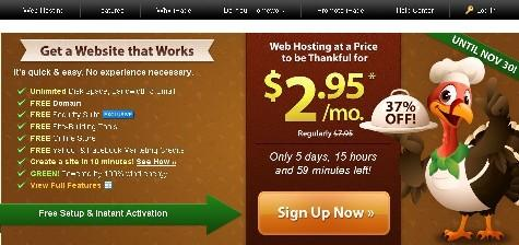 ipage black friday 2011