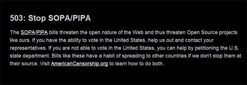 php.net oppose sopa action