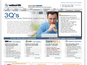 webhost4life old page